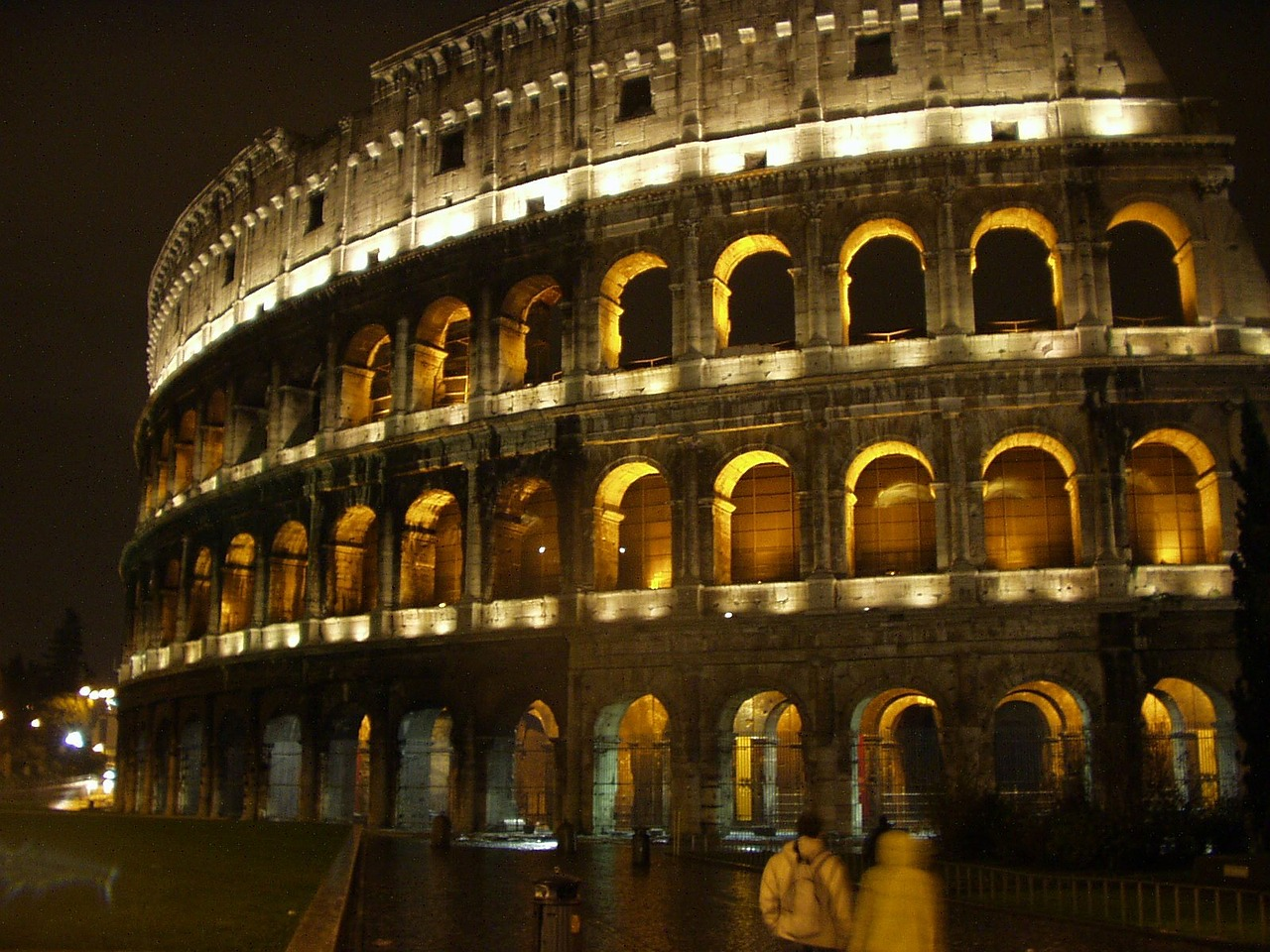 rome italy colosseum free photo