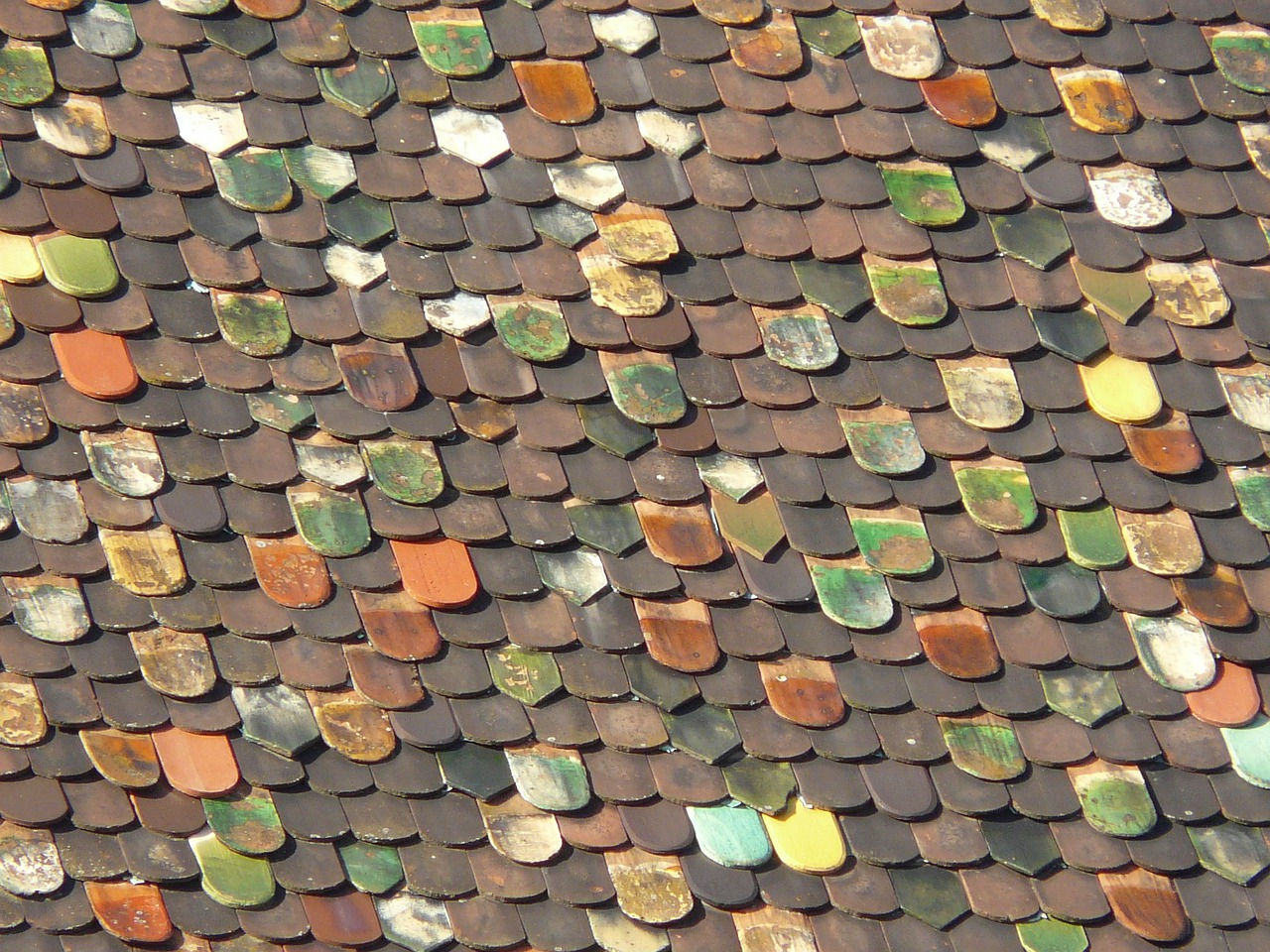 roof roofing colorful free photo