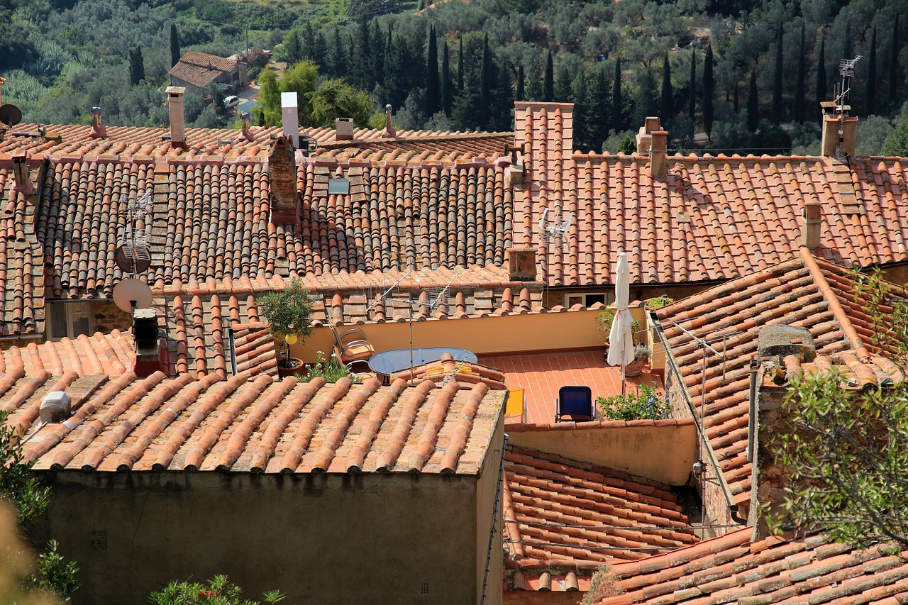 roofs brick roofing free photo