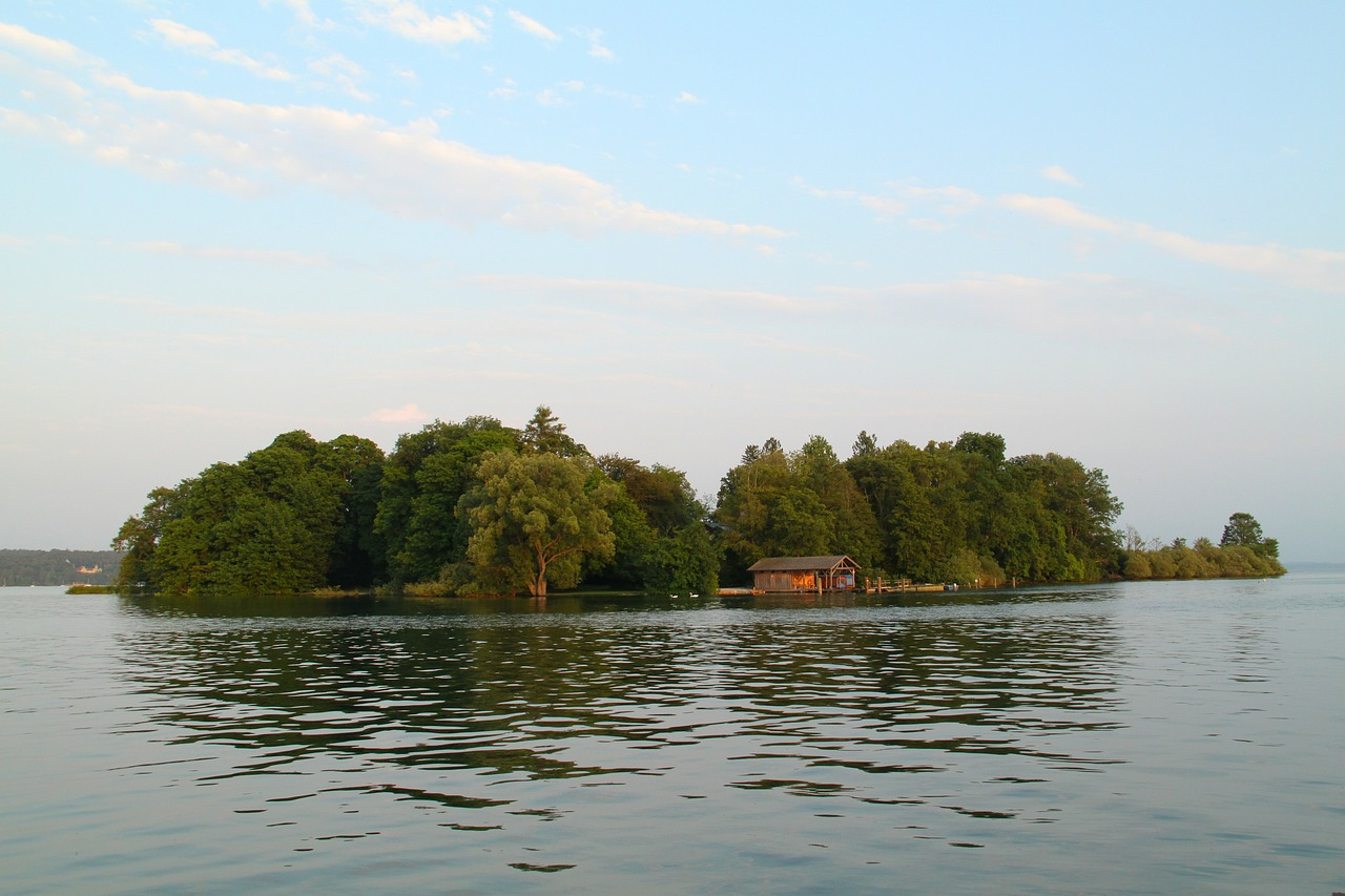 roseninsel germany island free photo