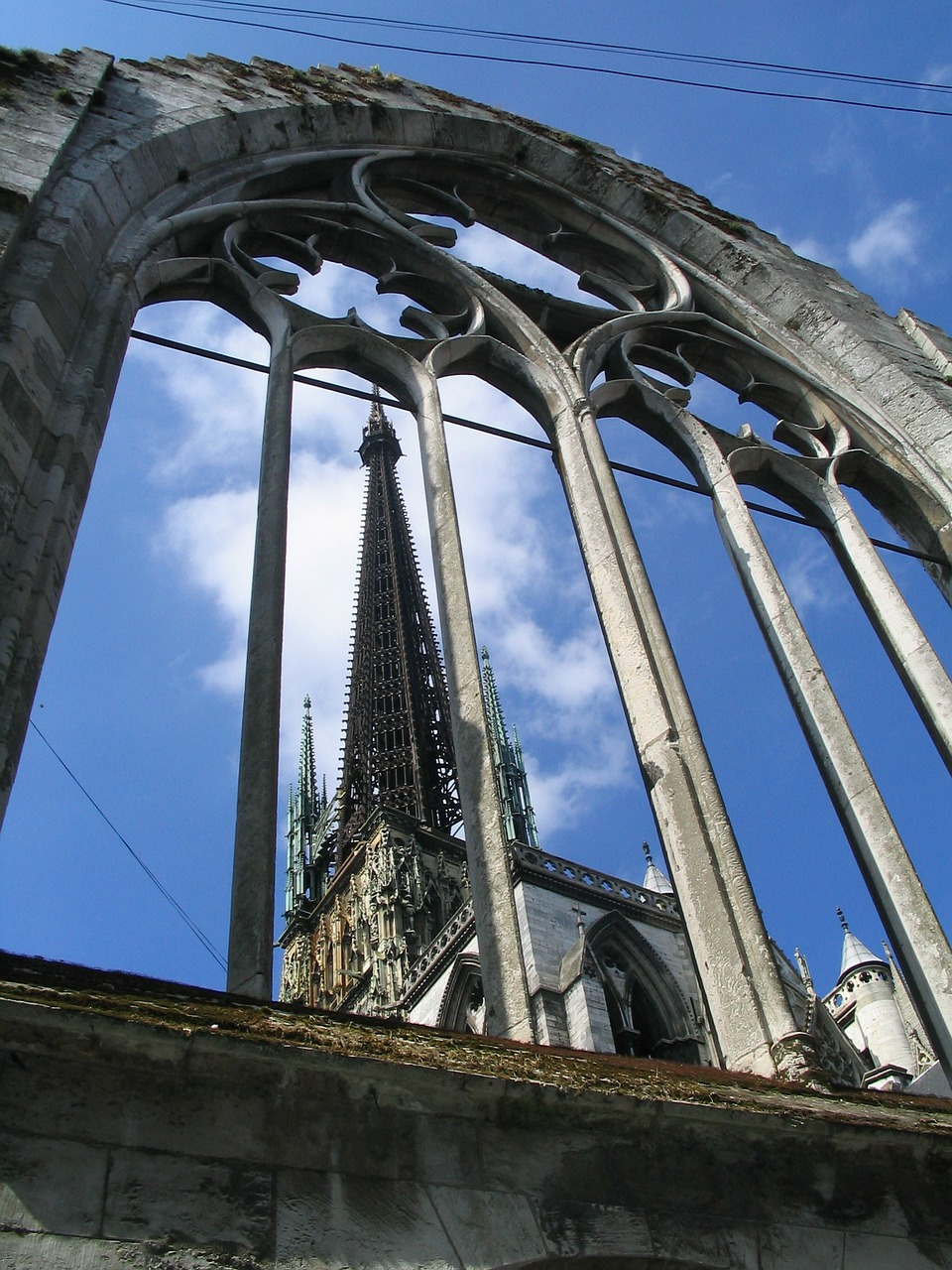 rouen cathedral building free photo