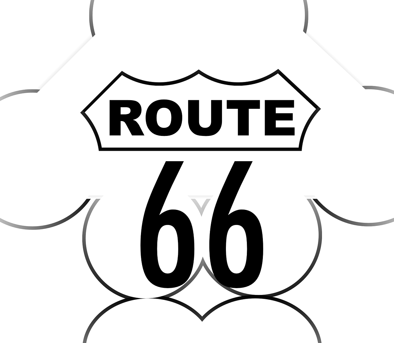 route 66 highway free photo