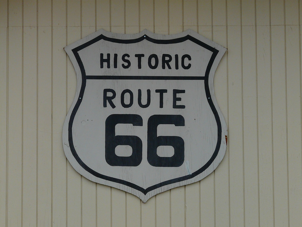 route 66 shield plaque free picture