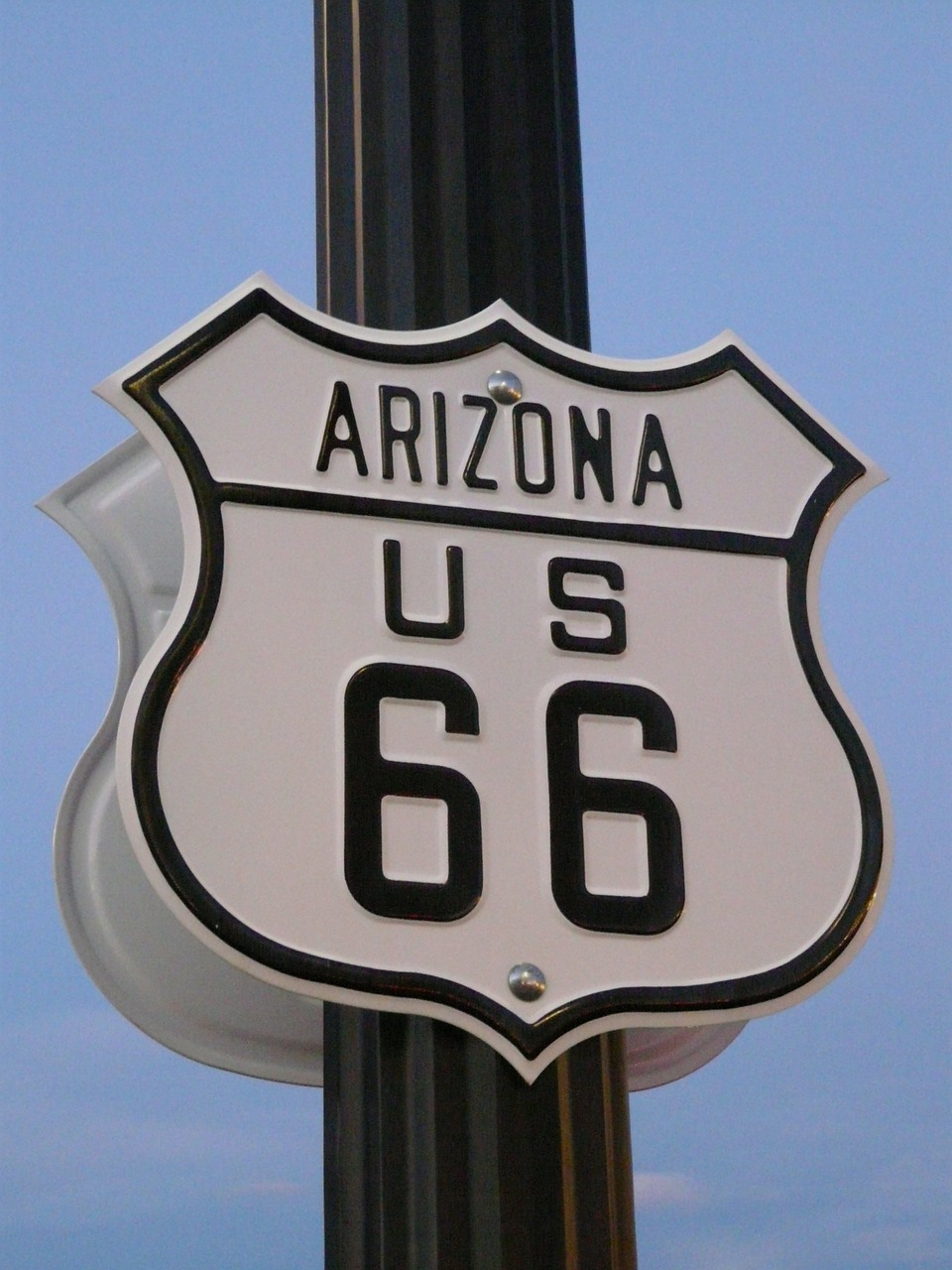 route 66 road shield free photo