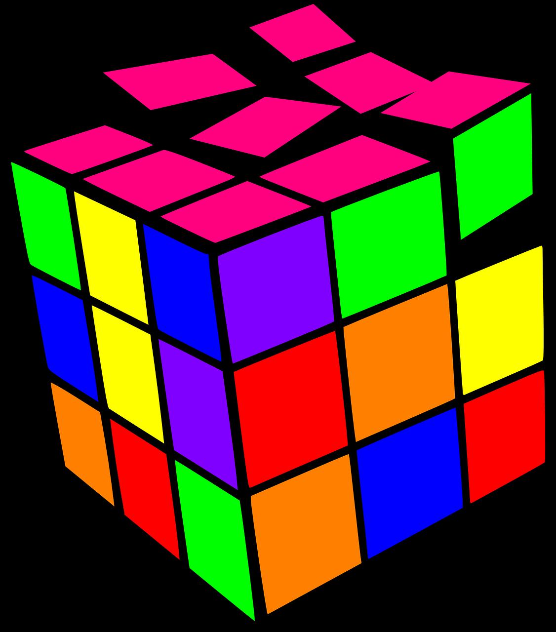 картинки кубиками рисовать тоже
