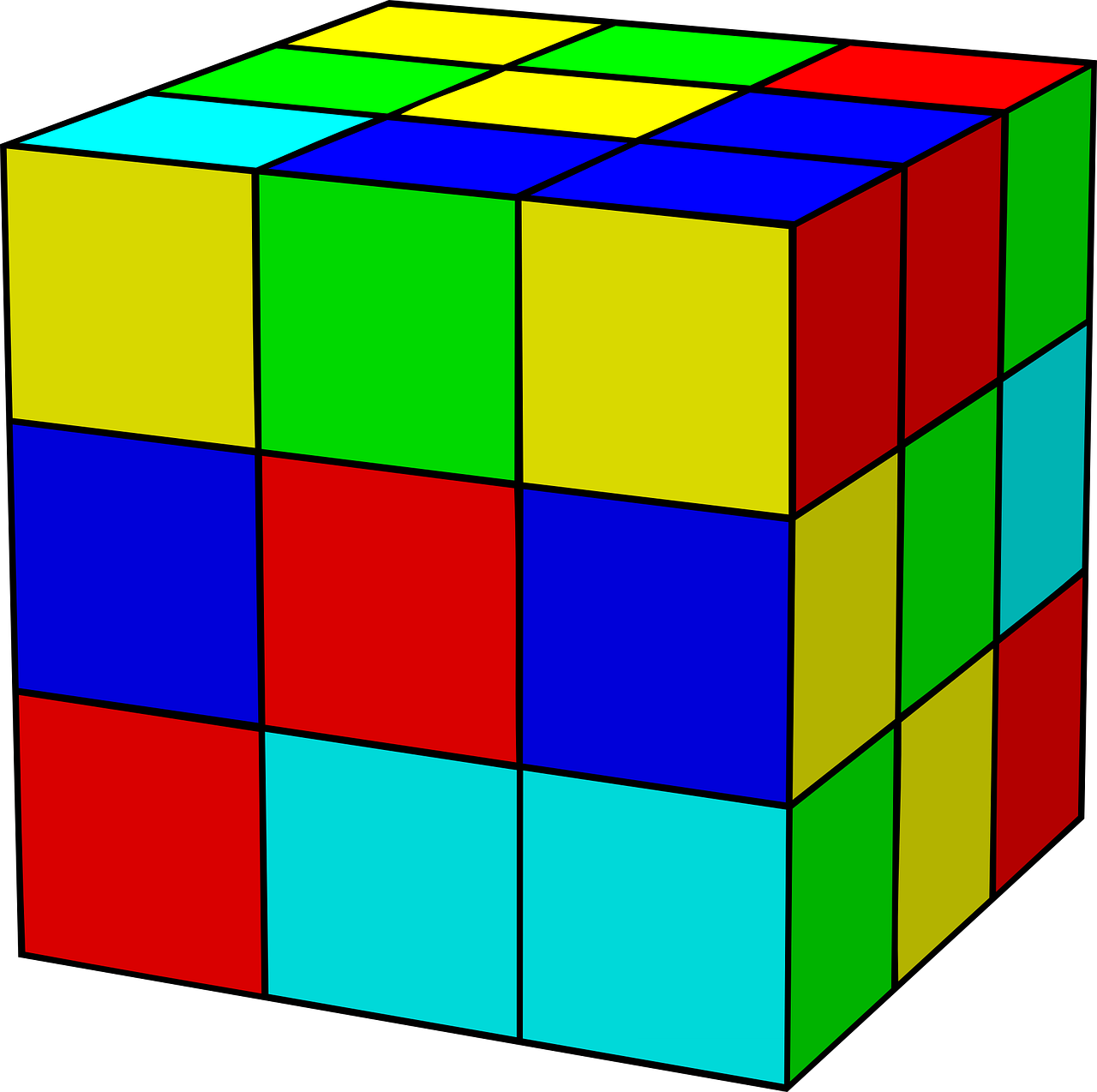 rubik's cube rubik cube free photo