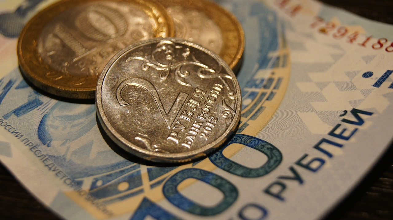 ruble coin money free photo