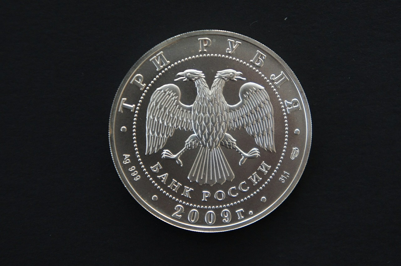 ruble coins money free photo