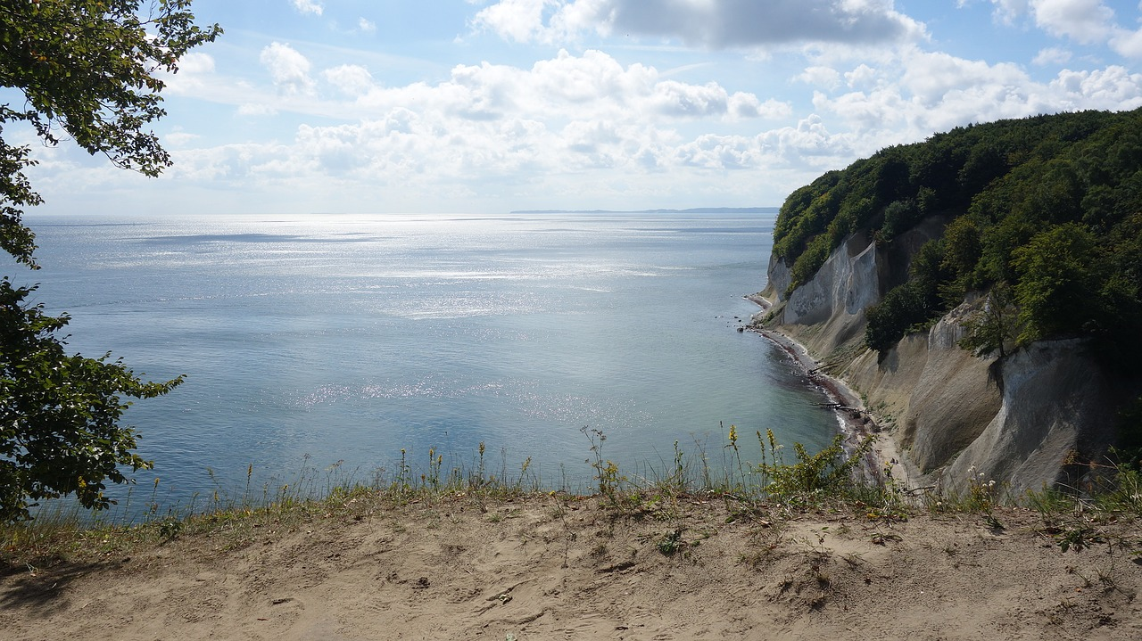 rügen island white cliffs cliffs free photo