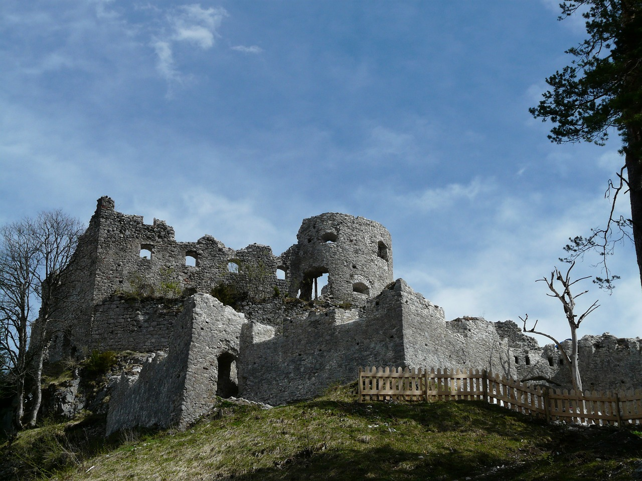 ruin castle ehrenberg free photo