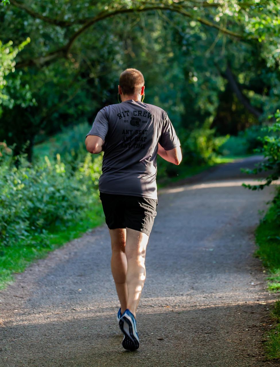 Runner, jogging, run in the park