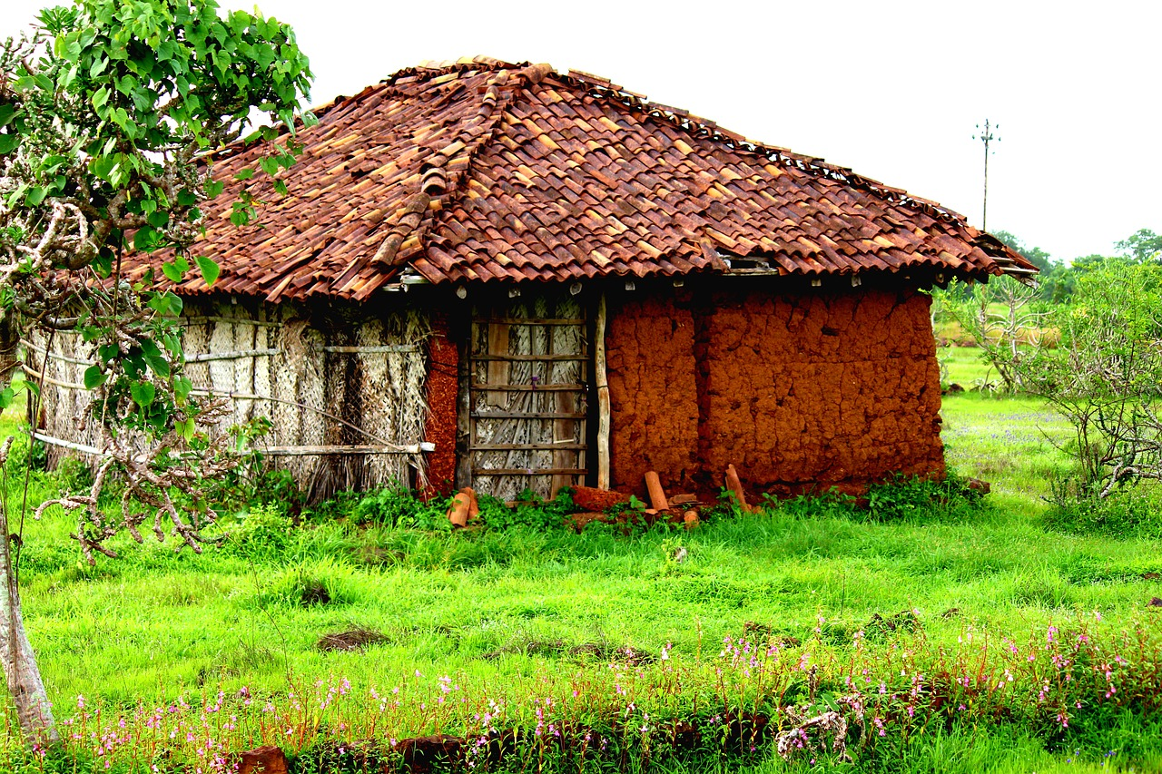 Rural india,village,random,mud house,nature - free image from ...