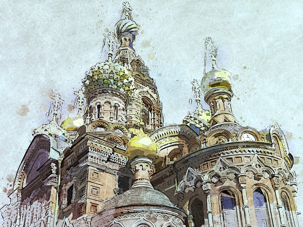 russia saint petersbourg cathedral free photo
