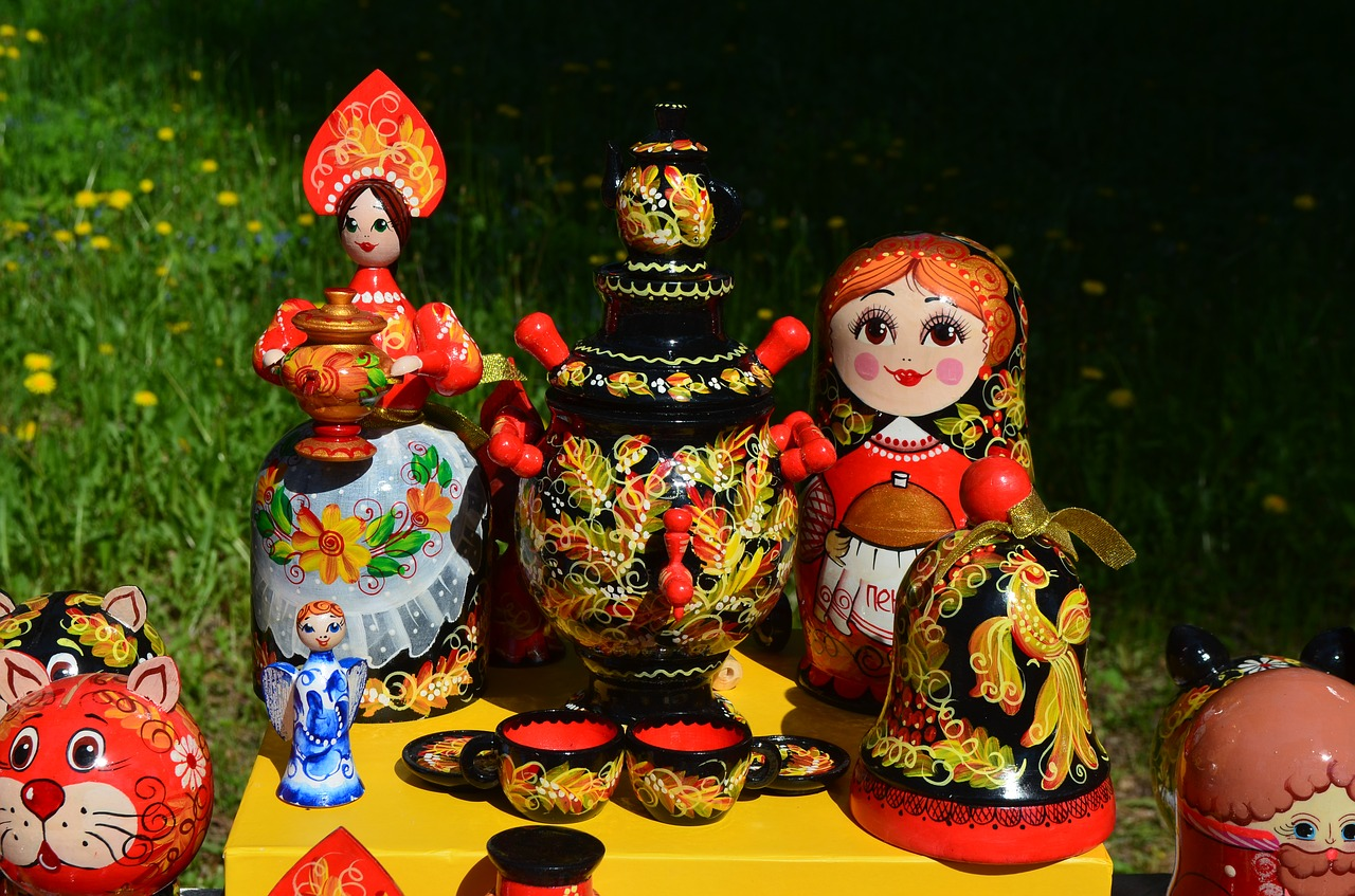 russian souvenirs corporate souvenirs folk free photo