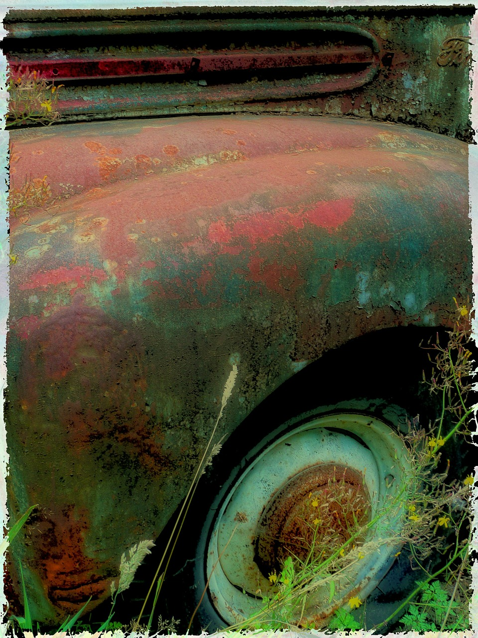 rusty old truck free photo