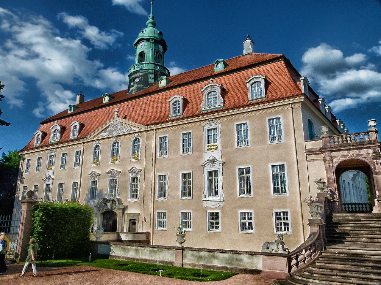 sachsen germany palace free photo