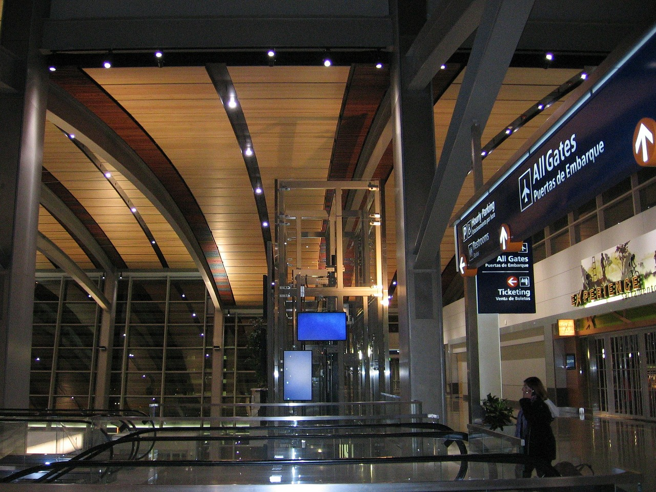 sacramento international airport terminal building free photo