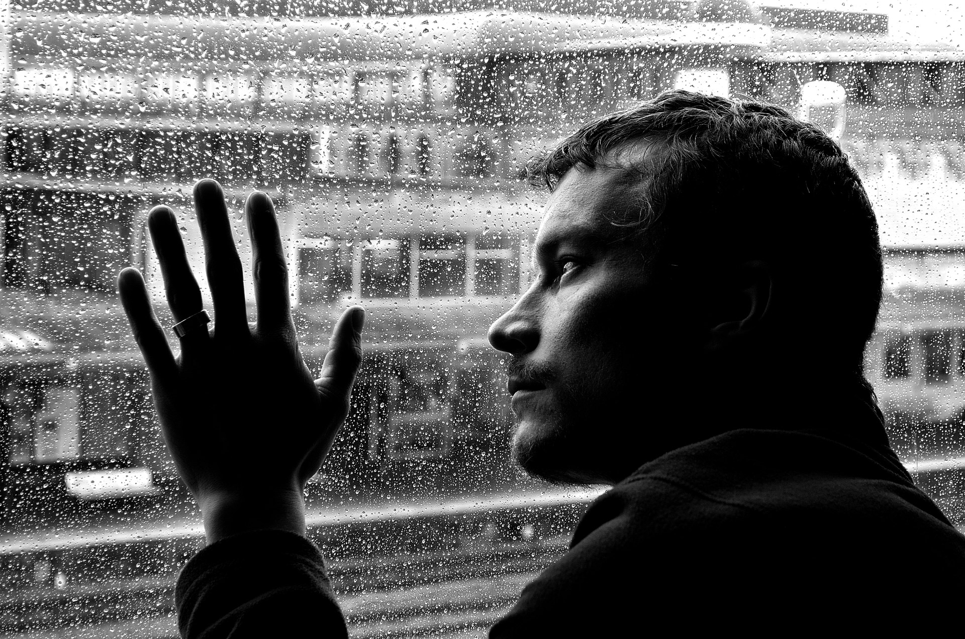 depression loneliness man free photo