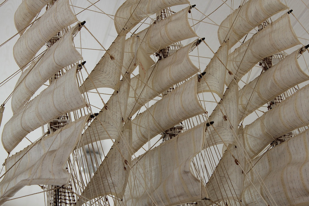 sail masts rigging free photo