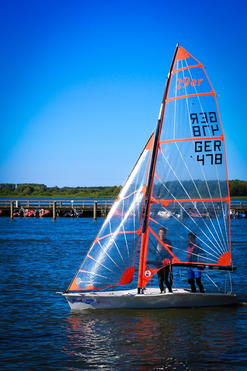 sailing boat 29er boot free photo