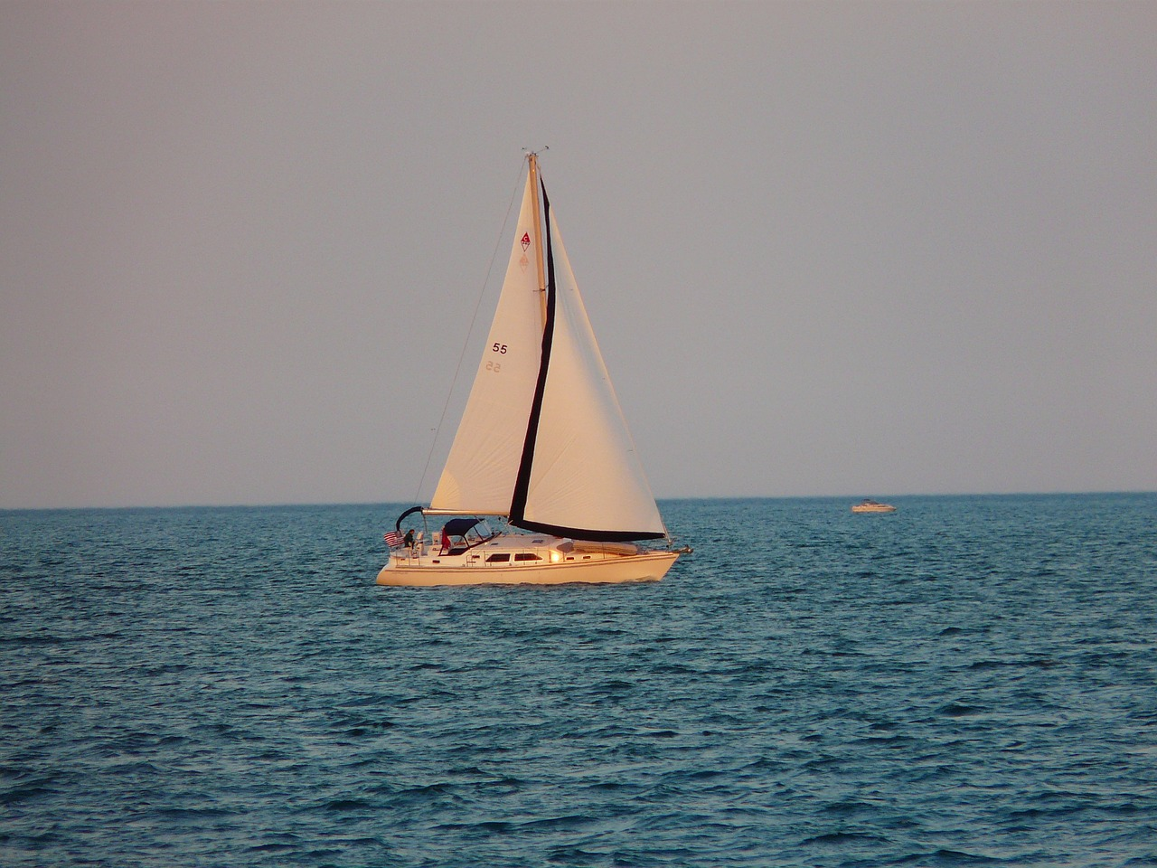 sailing boat boot water free picture