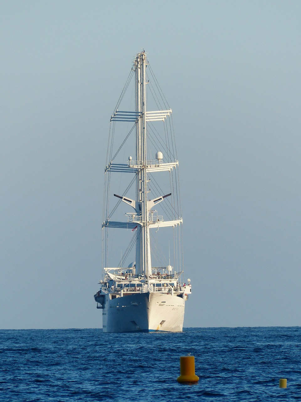 sailing vessel ozeanriese mega yacht free photo