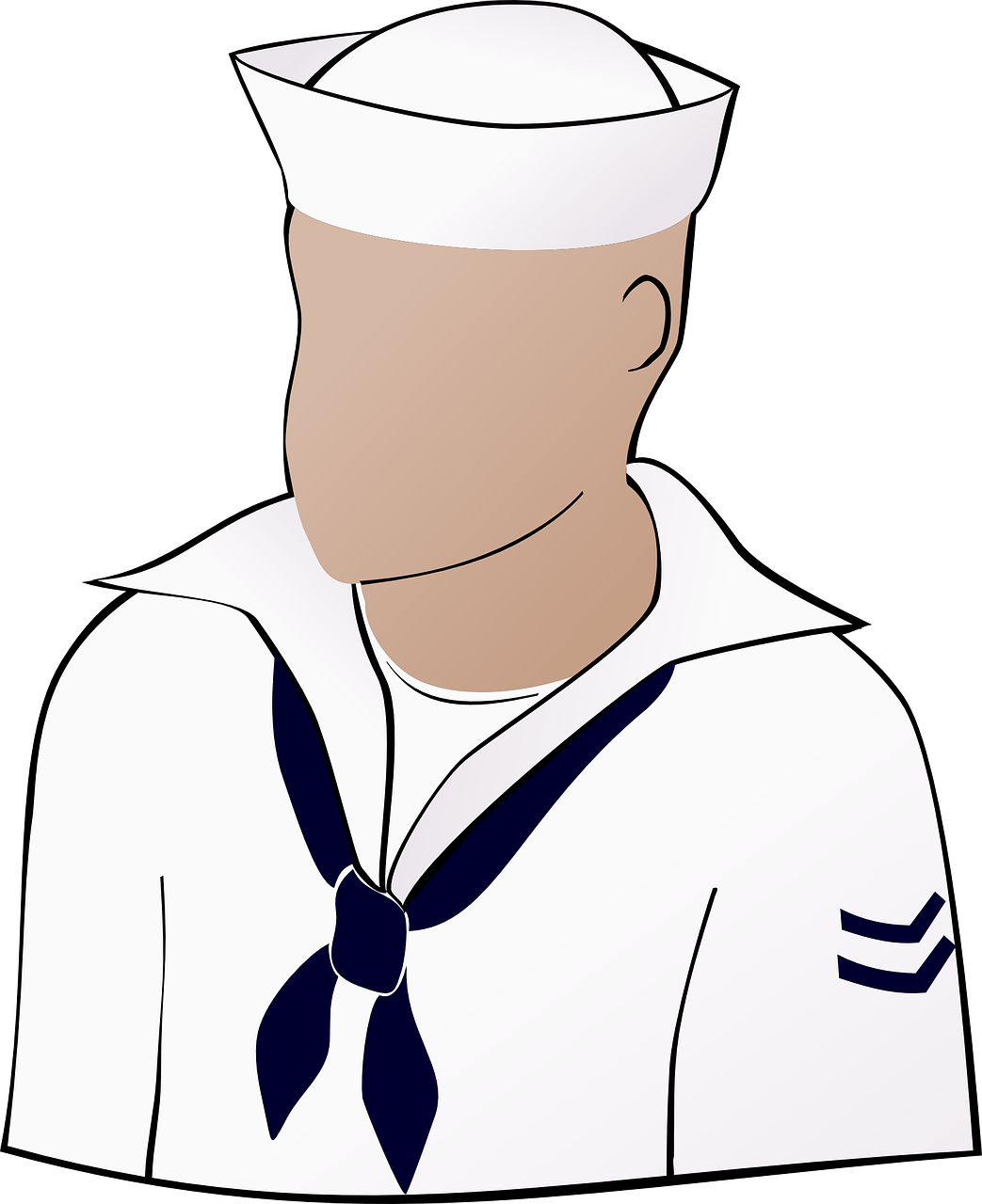 sailor person navy free photo