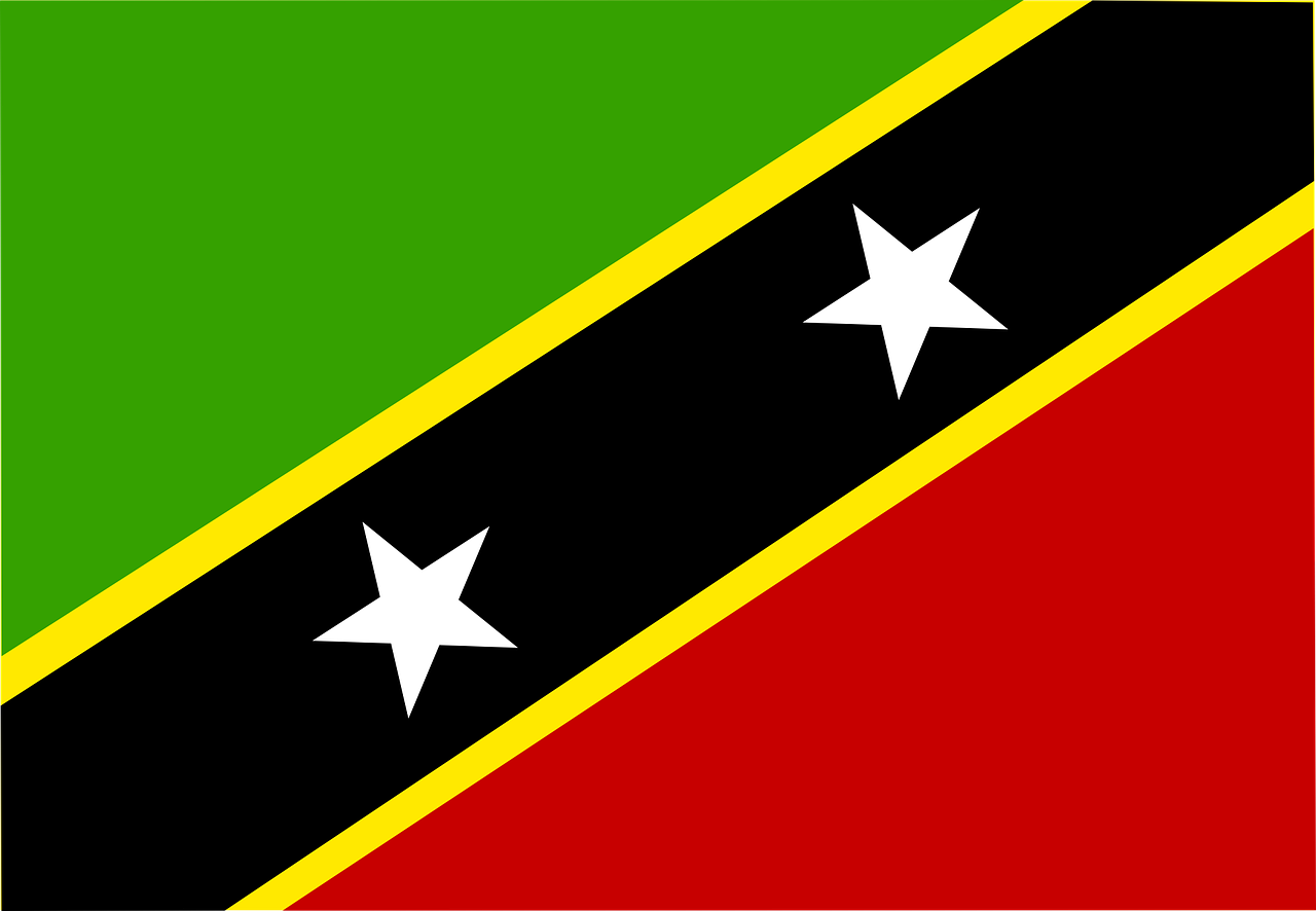 saint kitts and nevis flag symbol free photo