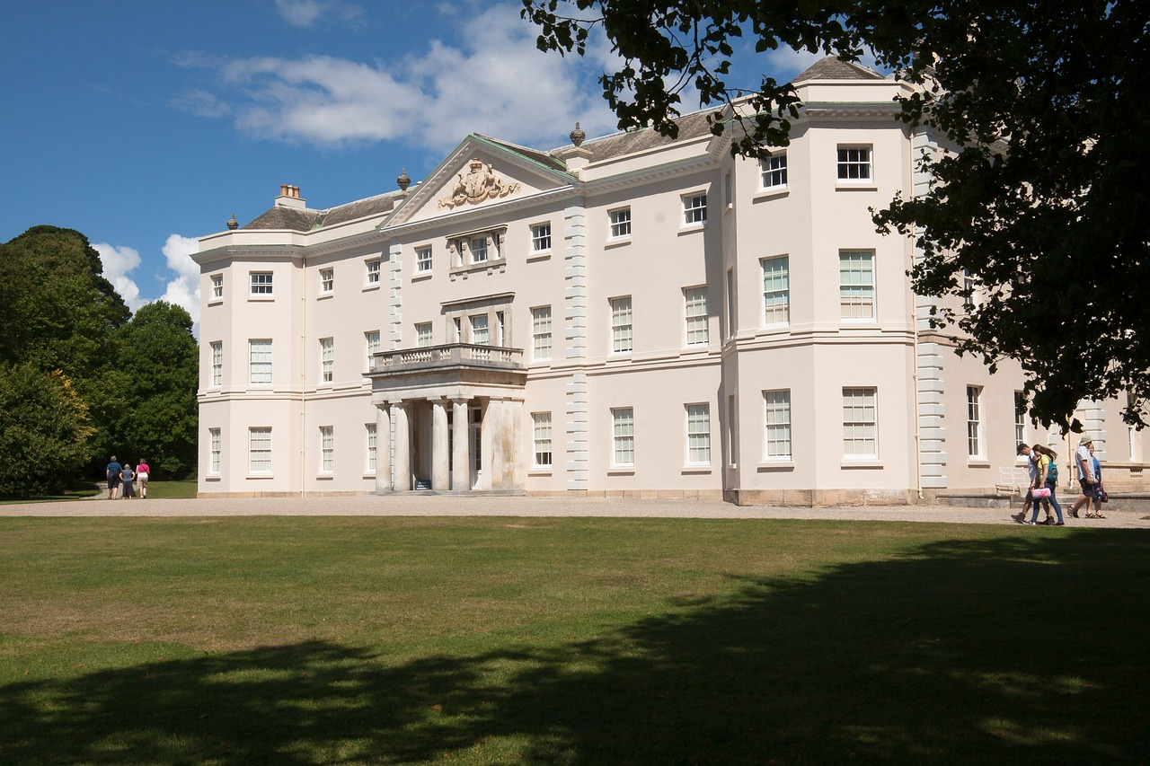 saltram house home property free photo