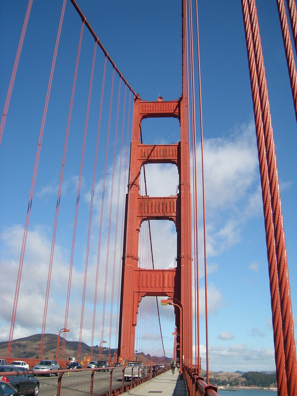 san francisco suspension bridge free photo