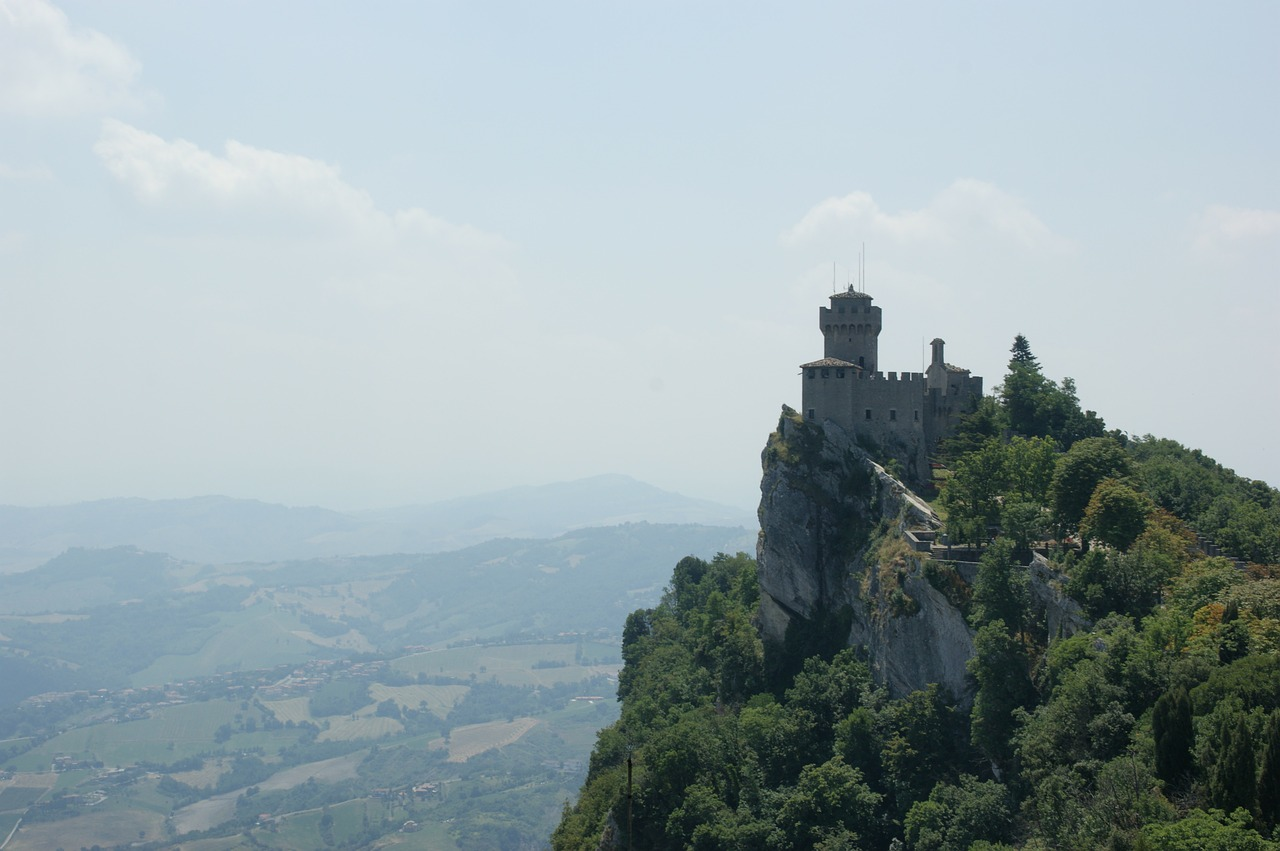 san marino italy castle free photo