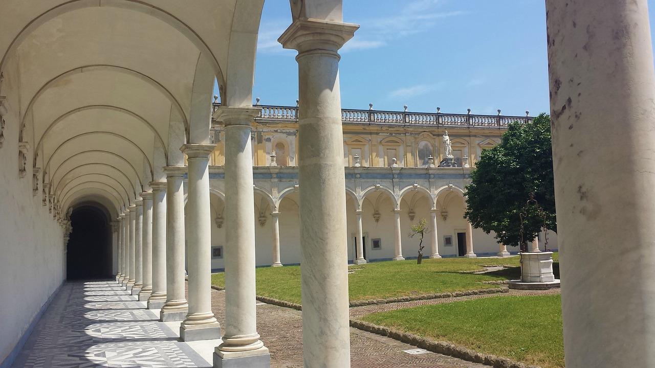 Download Free Photo Of San Martino Chartreuse Church Columns Naples From Needpix Com