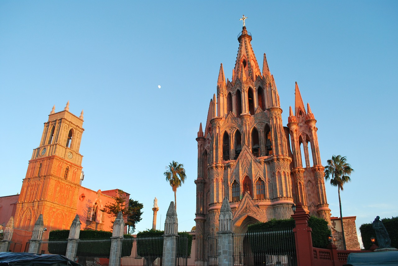 san miguel de allende mexico church free photo