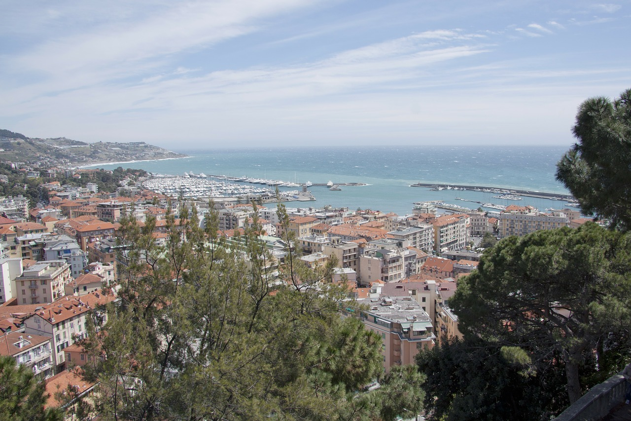 sanremo riviera liguria free photo