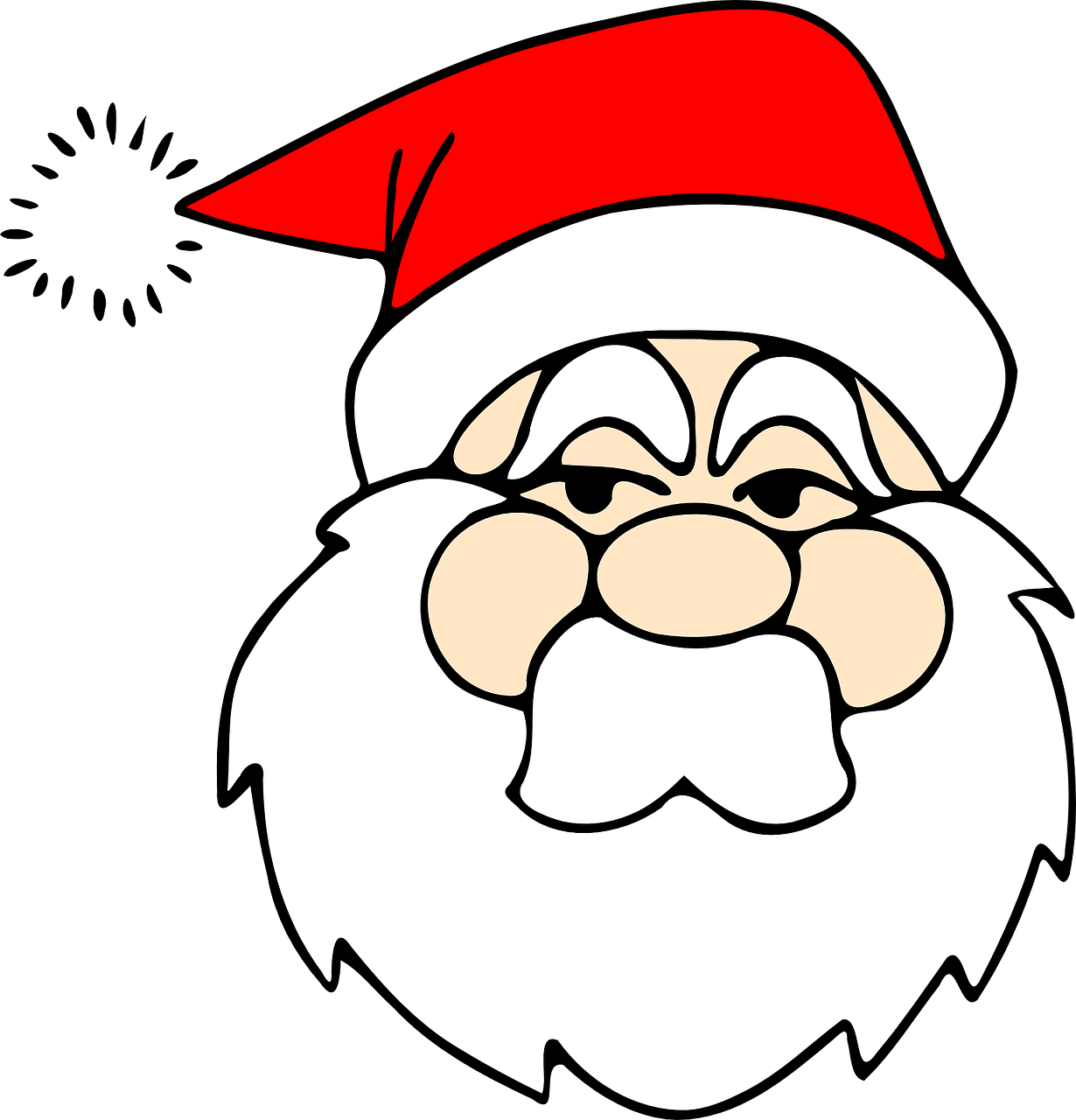 santa santa claus jolly old elf free photo
