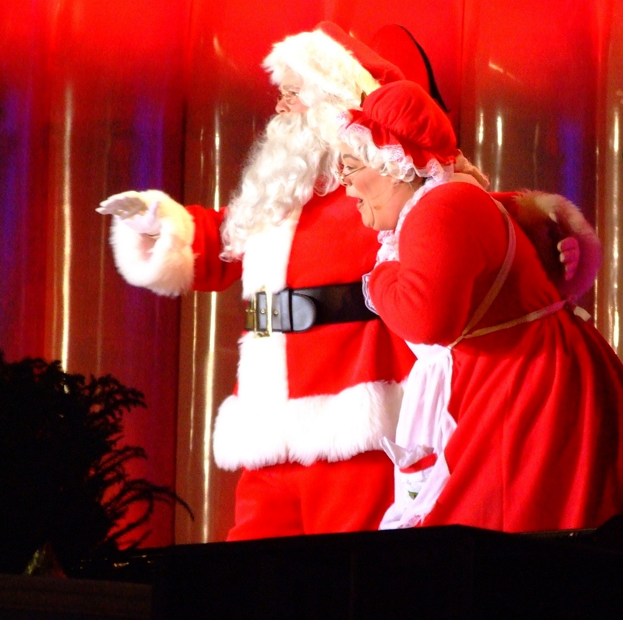 Santa Claus Characters Wife Mrs Claus Holiday Free Photo From