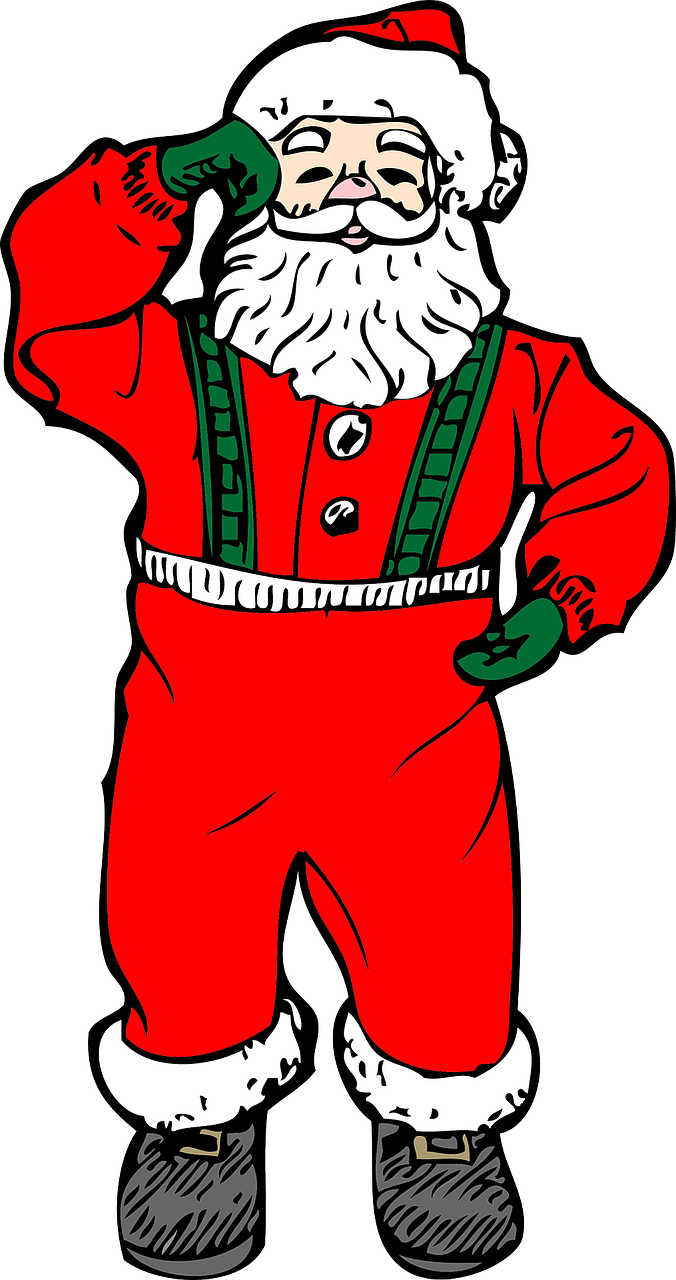 santa claus man traditional free photo