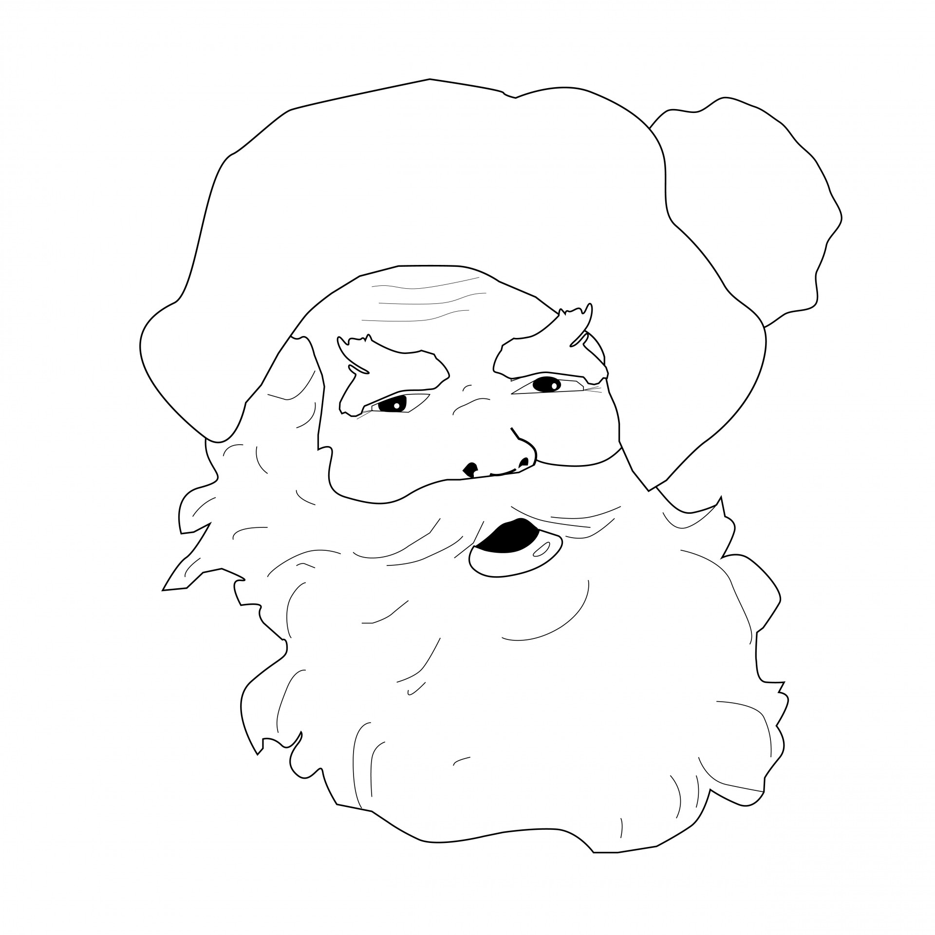 Christmas colouring pages to print - http://www.kidscp.com ... | 1920x1920