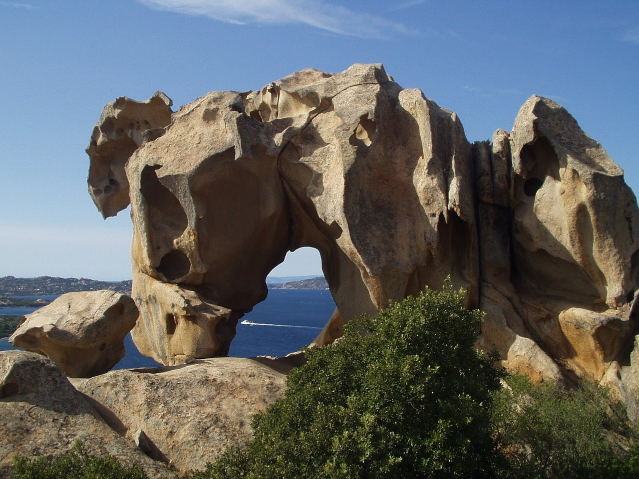 sardinia,capo d'orso,bear,granite,cliff,rock,free pictures, free photos, free images, royalty free, free illustrations, public domain