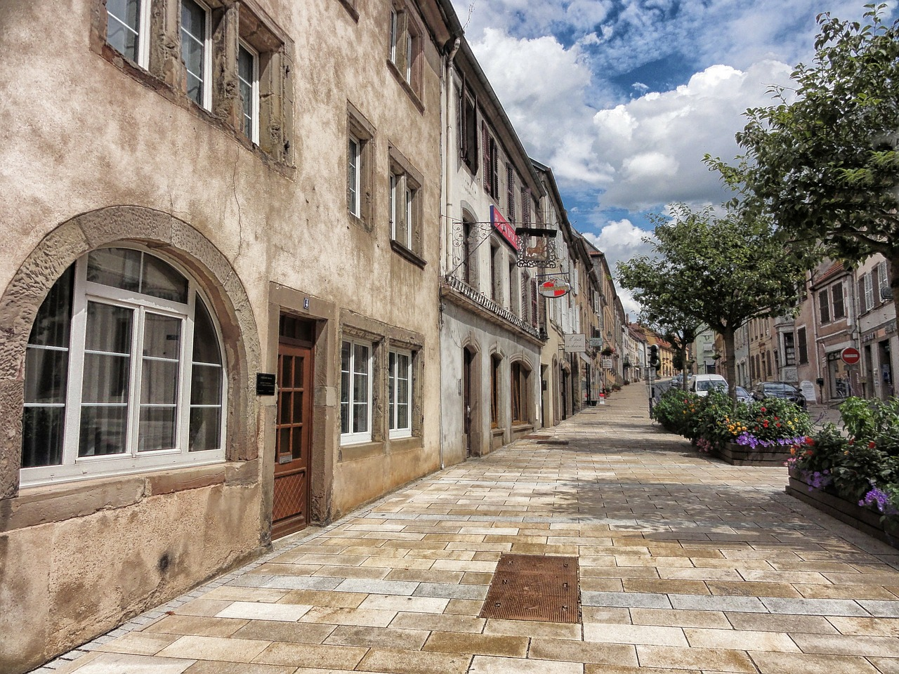 sarre-union france town free photo
