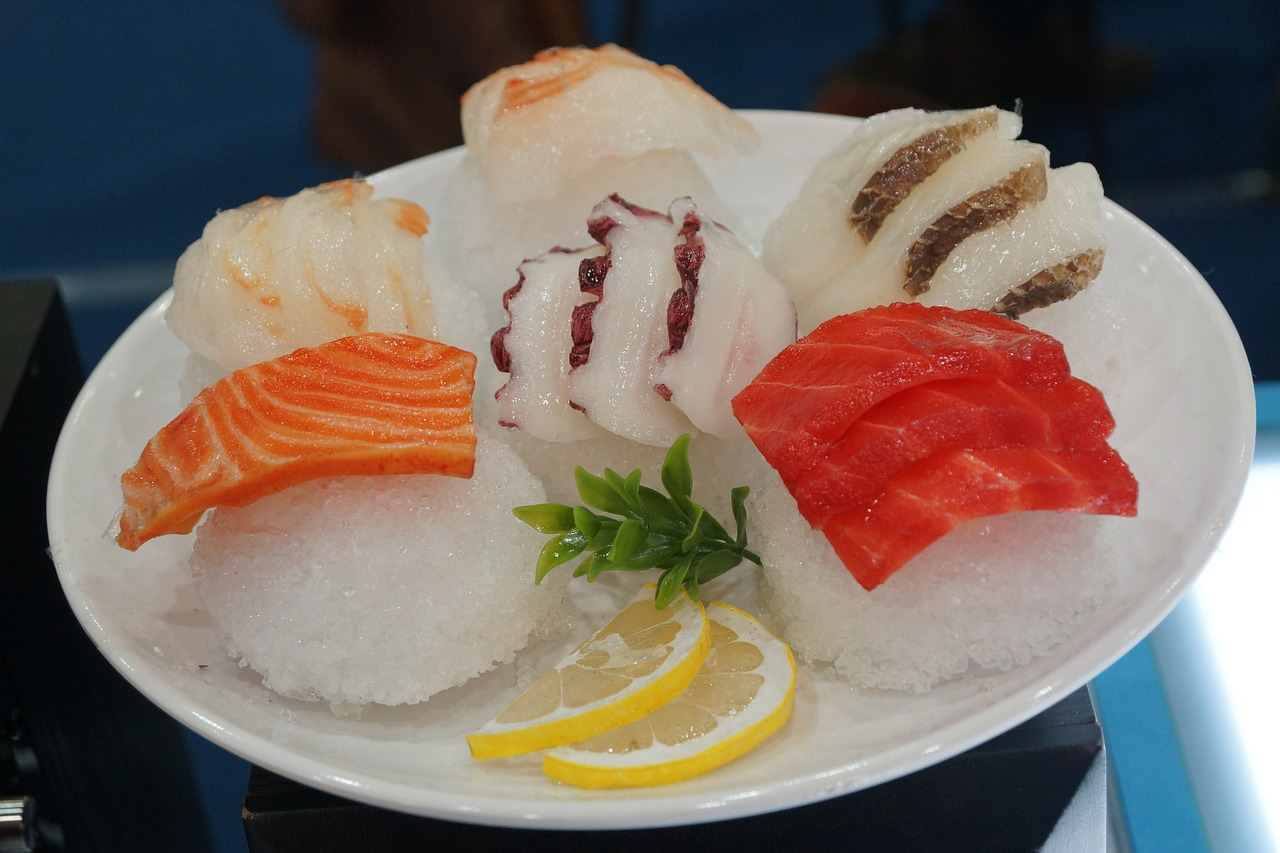 sashimi sushi time free photo