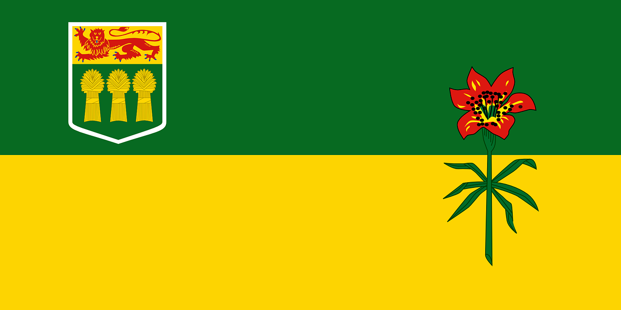 saskatchewan,province,flag,canada,prairie,free vector graphics,free pictures, free photos, free images, royalty free, free illustrations, public domain
