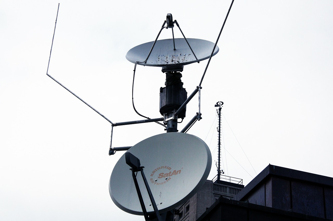 satellite dishes reception satellite broadcasting free photo