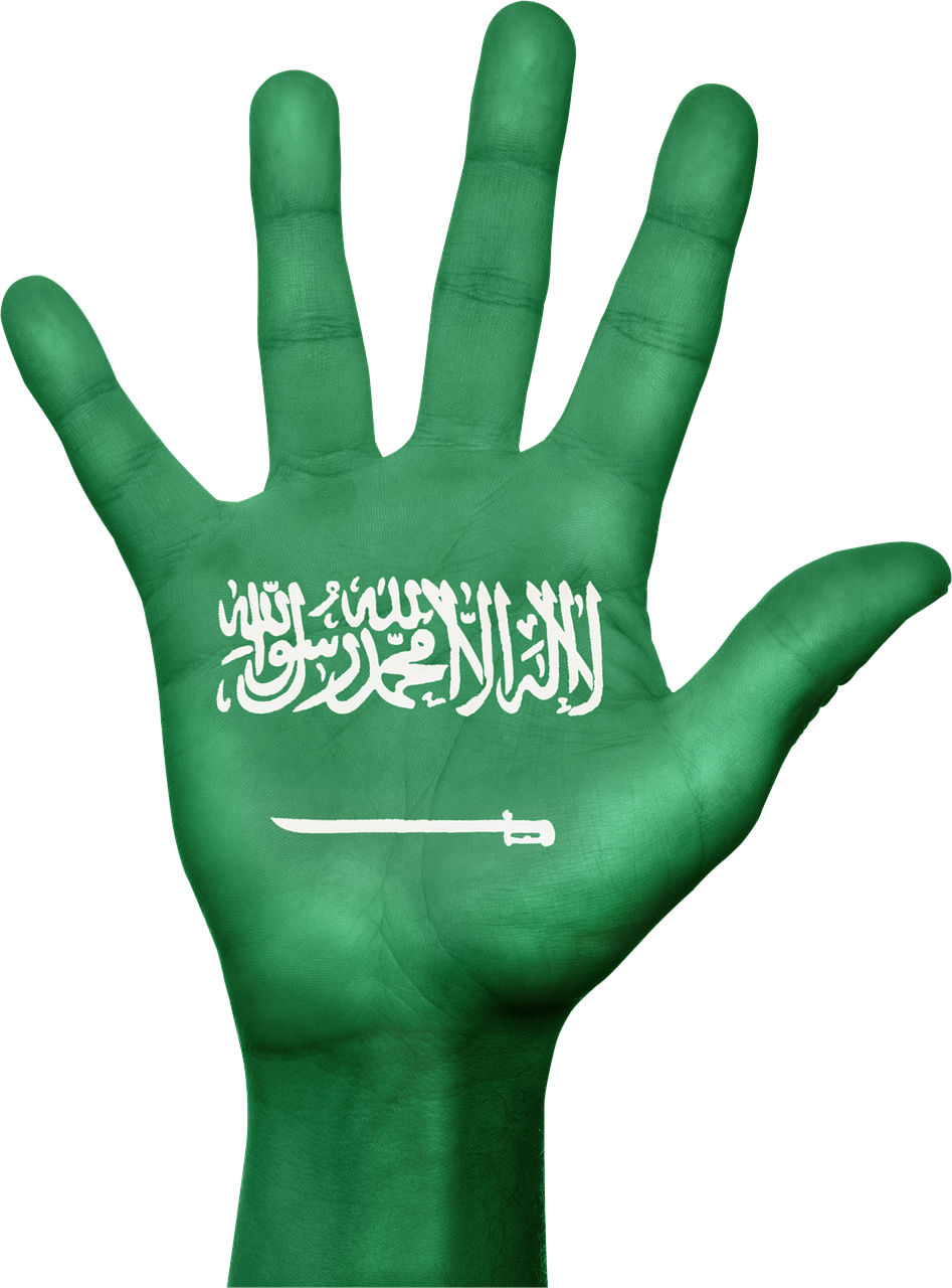 saudi arabia,flag,hand,country,patriotic,patriotism,symbol,sign,saudi,arabia,free pictures, free photos, free images, royalty free, free illustrations, public domain