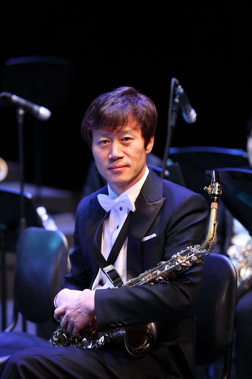 Saxophone,ensemble,big band,free pictures, free photos - free photo