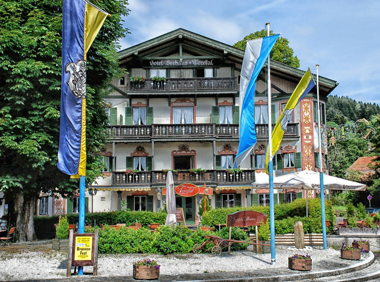 schliersee germany hotel free photo
