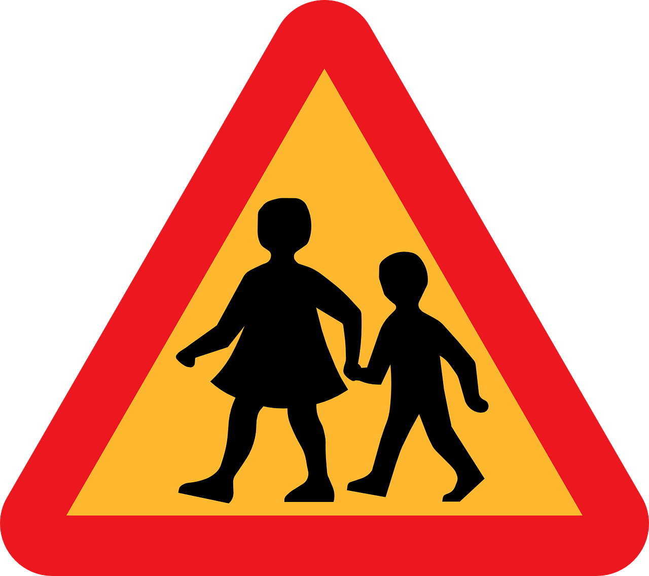 school kids crossing free photo