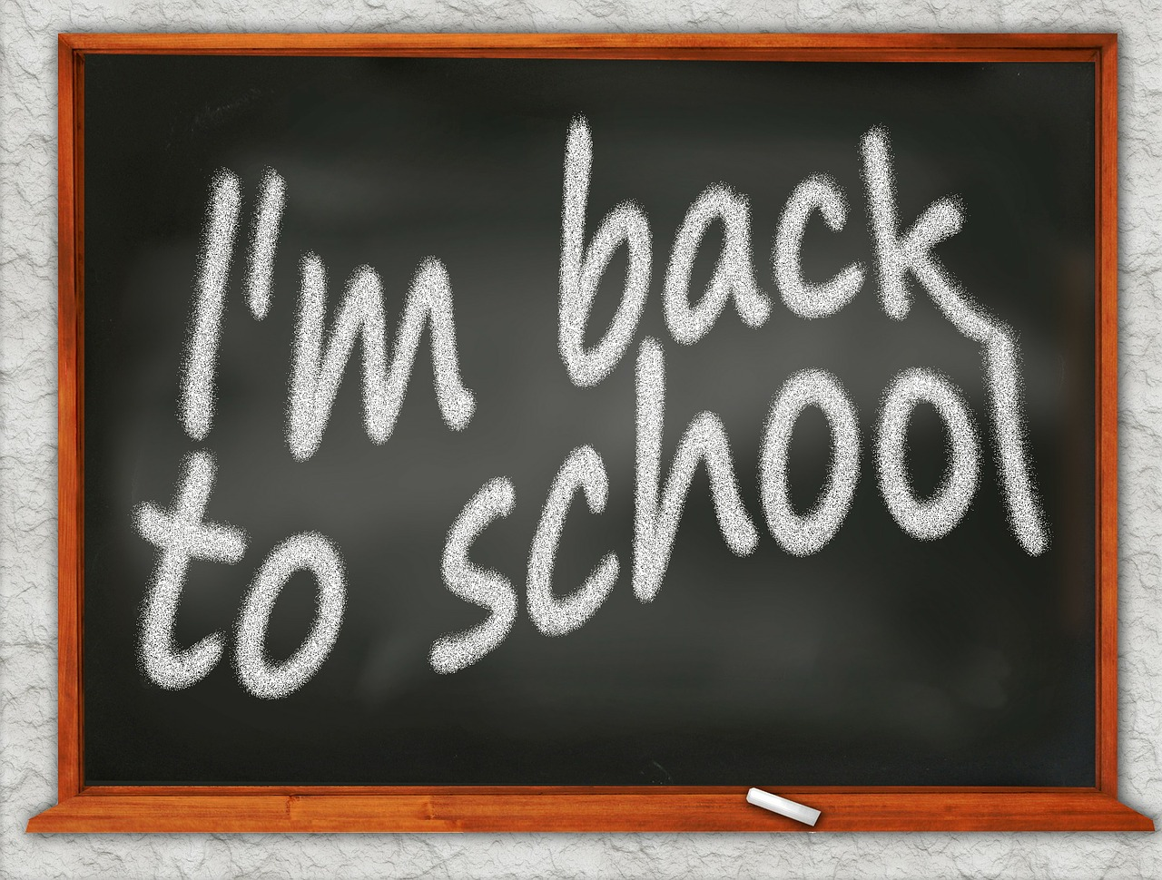 school black board free photo