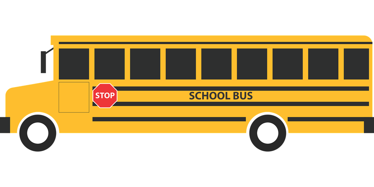 schoolbus school education free photo
