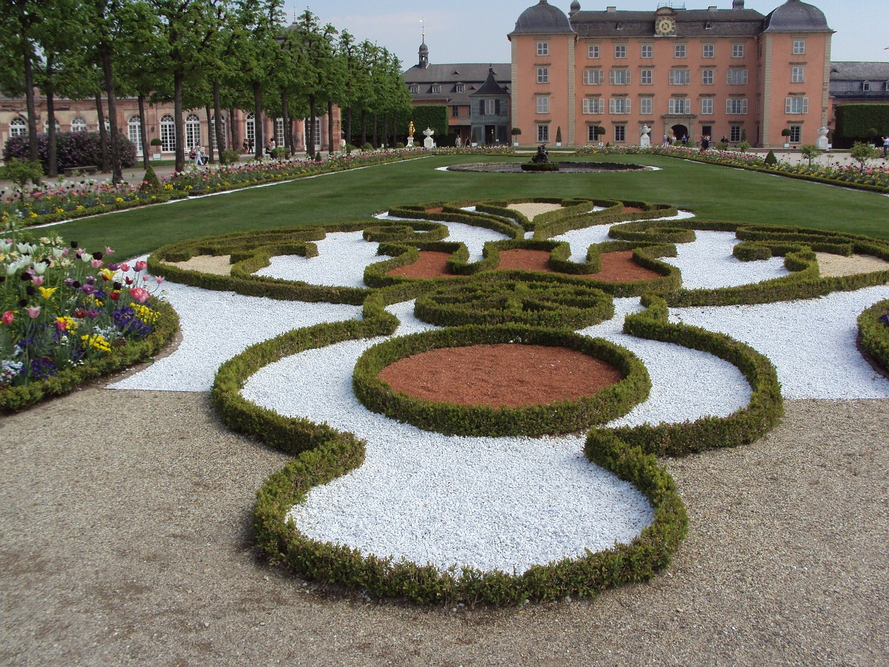 schwetzingen castle garden free photo